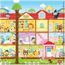 Tapete Infantil Play Mat Dorothy´s House 1 Peça - 17x17cm Dupla Face Safety 1st