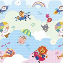 Tapete Infantil Play Mat I Love Sky 1 Peça - 19x19cm Dupla Face Safety 1st