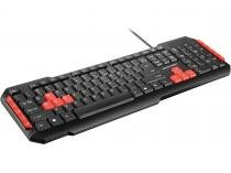 Teclado Gamer Multimídia Red Keys - Multilaser