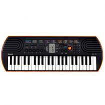 Teclado Musical Casio SA 76 H2 Infantil - Display LCD 44 Teclas