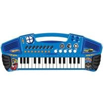 Teclado Musical Hot Wheels