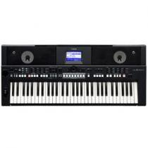 Teclado Musical Yamaha PSR S 650 5 Oitavas