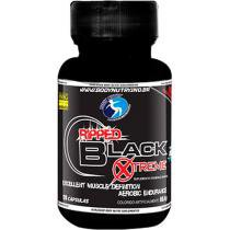Termogênico Ripped Black Xtreme Power 120 Cápsulas - Body Nutry