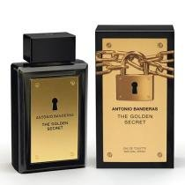 The Golden Secret Eau de Toilette Antonio Banderas - Perfume Masculino - 100ml - Antonio Banderas