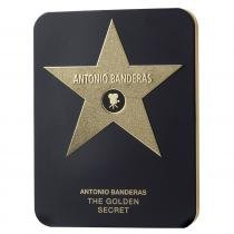 The Golden Secret Eau de Toilette Deluxe Metalbox Antonio Banderas - Perfume Masculino - 200ml - Antonio Banderas