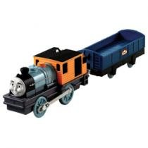 Thomas & Friends Trackmaster Trem com Vagão - Bash - Fisher-Price