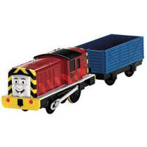 Thomas & Friends Trackmaster Trem + Vagão Salty - Mattel
