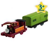 Thomas & Friends Trem e Vagão Harvey - Fisher-Price