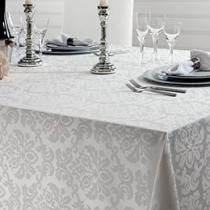 Toalha de Mesa Quadrada Jacquard Clean 220x220cm