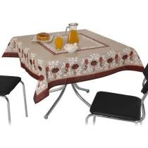 Toalha de Mesa Quadrada Rstica Victria