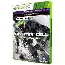 Tom Clancys Splinter Cell para Xbox 360 - Blacklist Signature Edition - Ubisoft