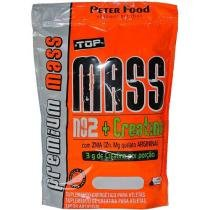 Top Mass NO2 + Creatina - Refil 3Kg Morango - Peter Food