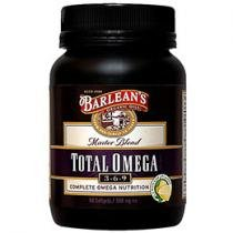 Total Ômega Caps 90 Softgels - Barleans