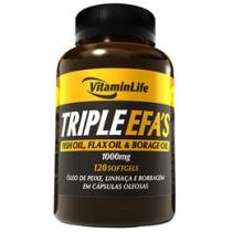 Triple EFA´s 120 Softgels - VitaminLife