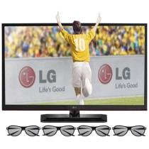 "TV 3D LED 47"" LG Full HD 1080p Cinema 3D 47LM4600"
