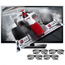 "TV 3D LED 55"" LG Full HD 1080p Cinema 3D 55LM4600"