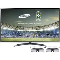 "TV 3D LED 60"" Samsung Full HD 1080p UN60F6400AGXZD - 120Hz 4 HDMI 3 USB 2 Óculos 3D Ativo"
