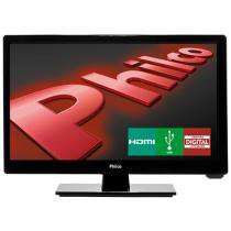 TV LED 16 Philco PH16D10D - Conversor Integrado 1 HDMI 1 USB