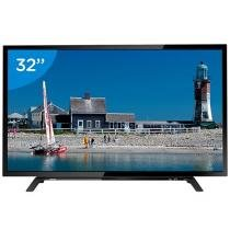 TV LED 32 Toshiba 32L1500 - Conversor Digital 2 HDMI 1 USB