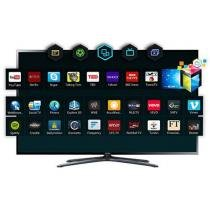 "TV LED 3D 55"" Samsung UN55F6400AGXZD Full HD 1080p - Conversor Integrado 4 HDMI 3 USB 2 Óculos 3D Ativo"