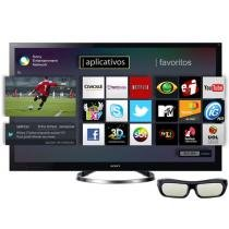 "TV LED 3D 65"" Sony Bravia 65HX955 Full HD 1080p - Conversor Integrado 4 HDMI 2 USB Wi-Fi 1 Óculos 3D"