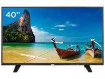 TV LED 40 AOC Full HD LE40F1465 - Conversor Digital 1 USB DTV