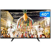 TV LED 40 Panasonic Viera TC 40D400B - Conversor Integrado 2 HDMI 1 USB
