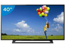 TV LED 40 Sony Full HD KDL-40R355B - Conversor Integrado 2 HDMI 1 USB