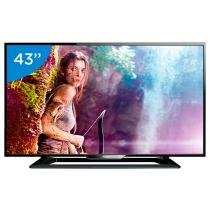 TV LED Slim 43 Philips Full HD 43PFG5000/78 - Conversor Digital 2 HDMI 1 USB