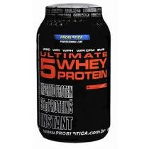 Ultimate 5 Whey Protein Premium Line Morango 900g