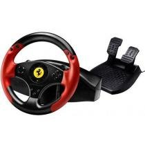 Volante com Pedais Ferrari Racing Red Legend - para PS3 e PC - Thrustmaster