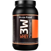 Whey 3W Protein 900g Morango - Peter Food