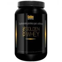 Whey Protein 100% Golden Whey 900g Morango - Golden Nutrition