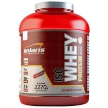 Whey Protein Isolado Iso 2,270Kg Chocolate - Solaris Nutrition