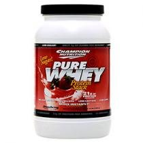 Whey Protein Pure Whey 1Kg Morango - Champion Nutrition