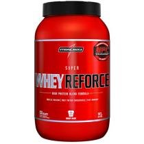 Whey Super Reforce Chocolate 907g Integralmédica - Proteína Concentrada, Isolada e Hidrolisada