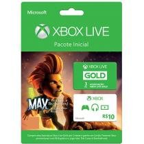 Xbox Live Gold 3 Meses: Jogo Max: The course of - Brotherhood + Cartão Presente R$10,00 - Microsoft