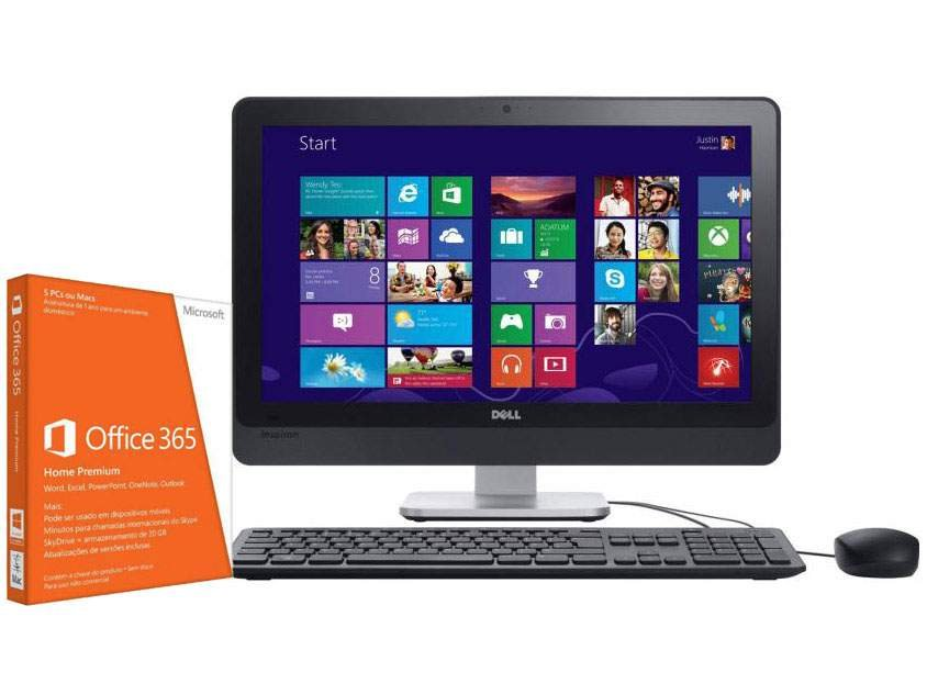 """One 23 F330 - Intel"""" Core i3 6GB 1TB Windows 8 LCD Touch+ Office"""