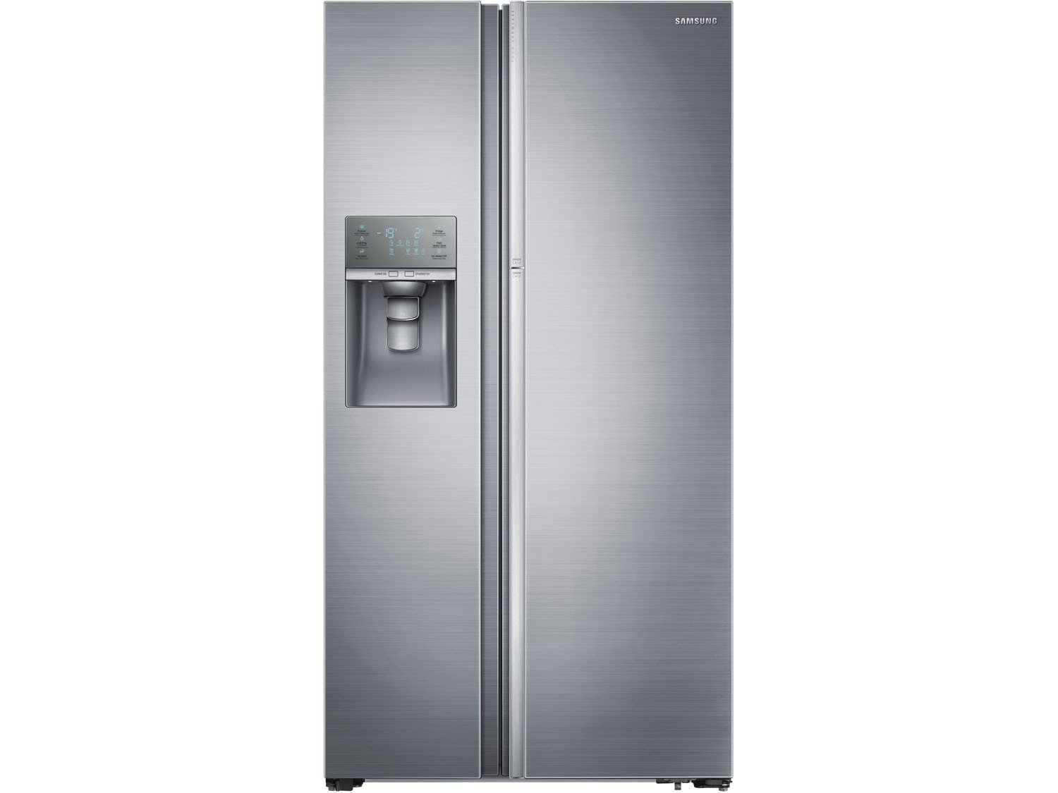 geladeira refrigerador samsung side by side 765l inox food. Black Bedroom Furniture Sets. Home Design Ideas