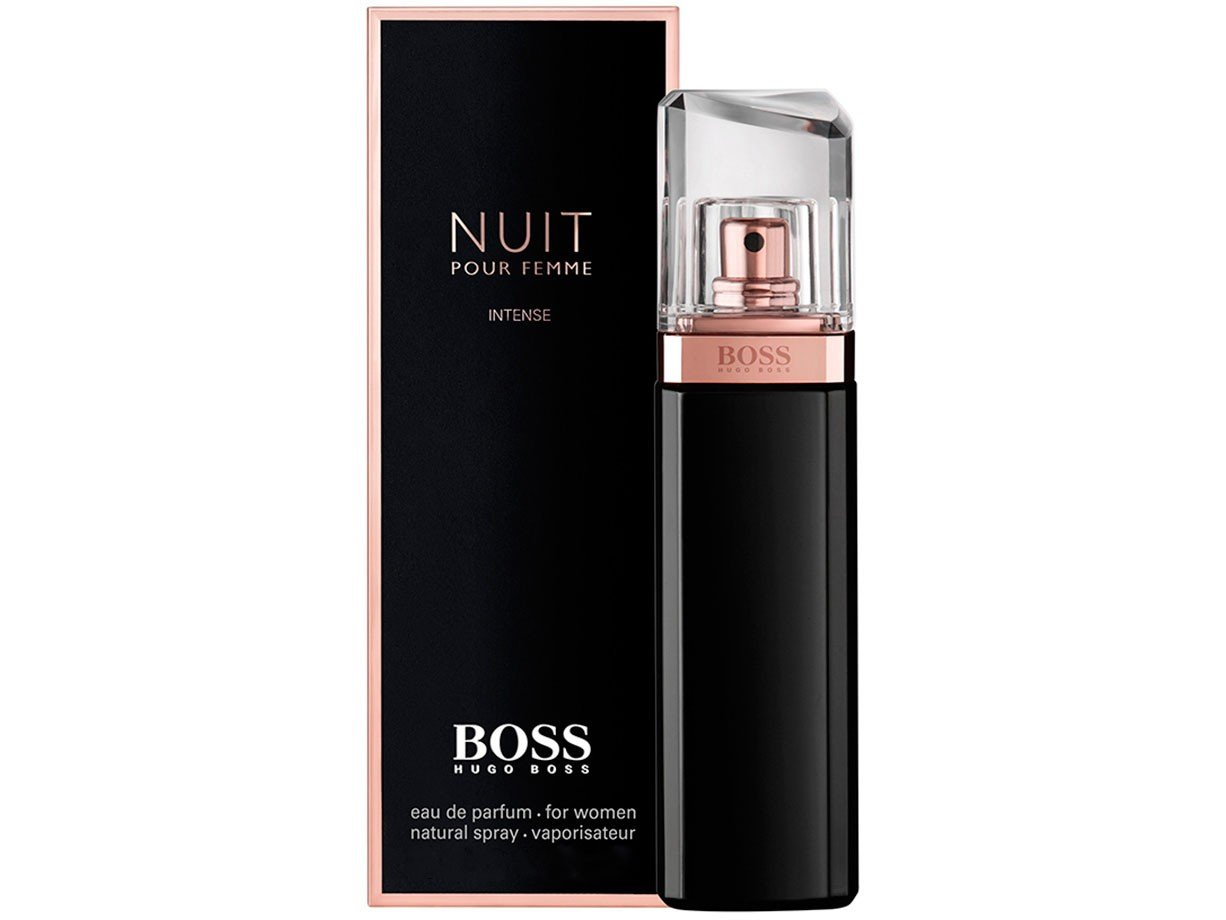 perfume hugo boss nuit pour femme intense feminino edp 50ml r 269 99 em mercado livre. Black Bedroom Furniture Sets. Home Design Ideas