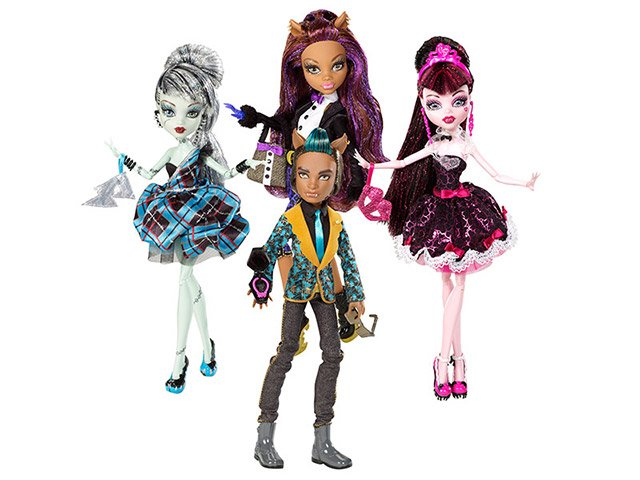 Monster High 1600 Anos Mattel Bonecas Magazine Luiza