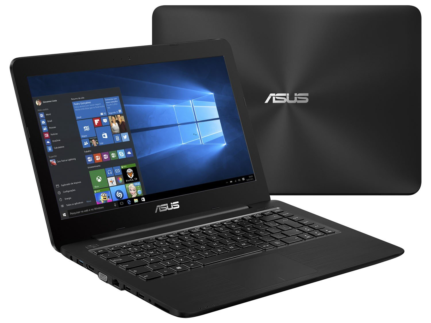 Notebook Asus Z450 Intel Core I5 8GB 1TB LED 14 Windows