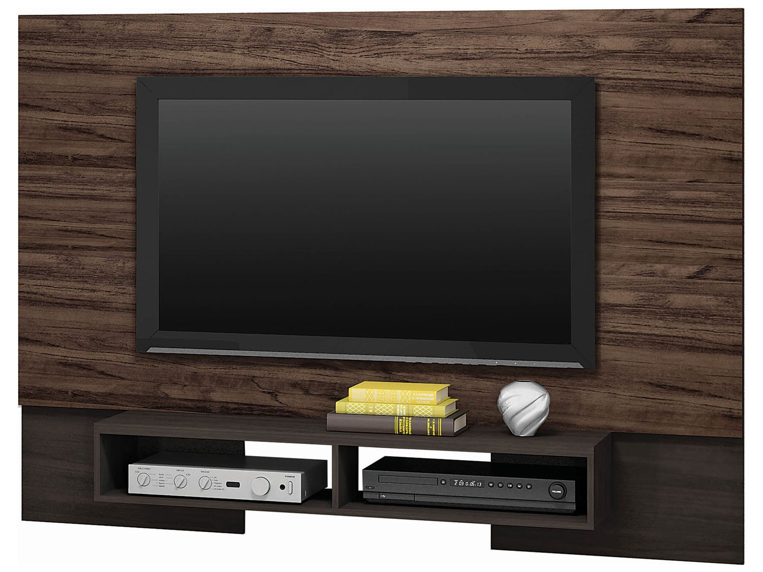 Pin Adesivo De Parede Painel Tv Lcd Led Textura Madeira Rln123 on  #A38F28 1500x1125