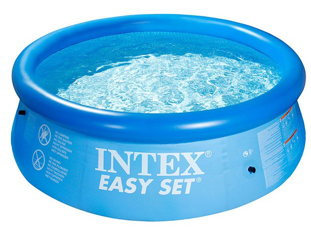 Piscina Redonda Easy Set Litros Intex Piscina