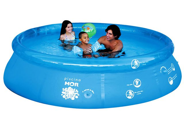 piscina redonda splash fun 4600 litros mor piscina