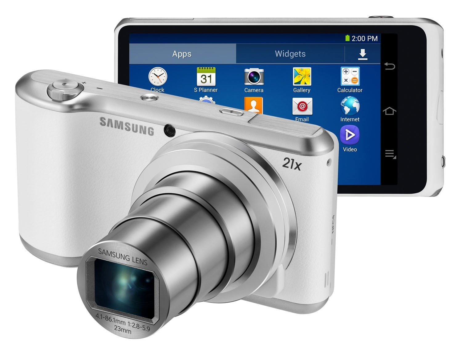 Samsung Galaxy Camera 2 163MP Tela 48quot Touch Zoom ptico 21x WiFi