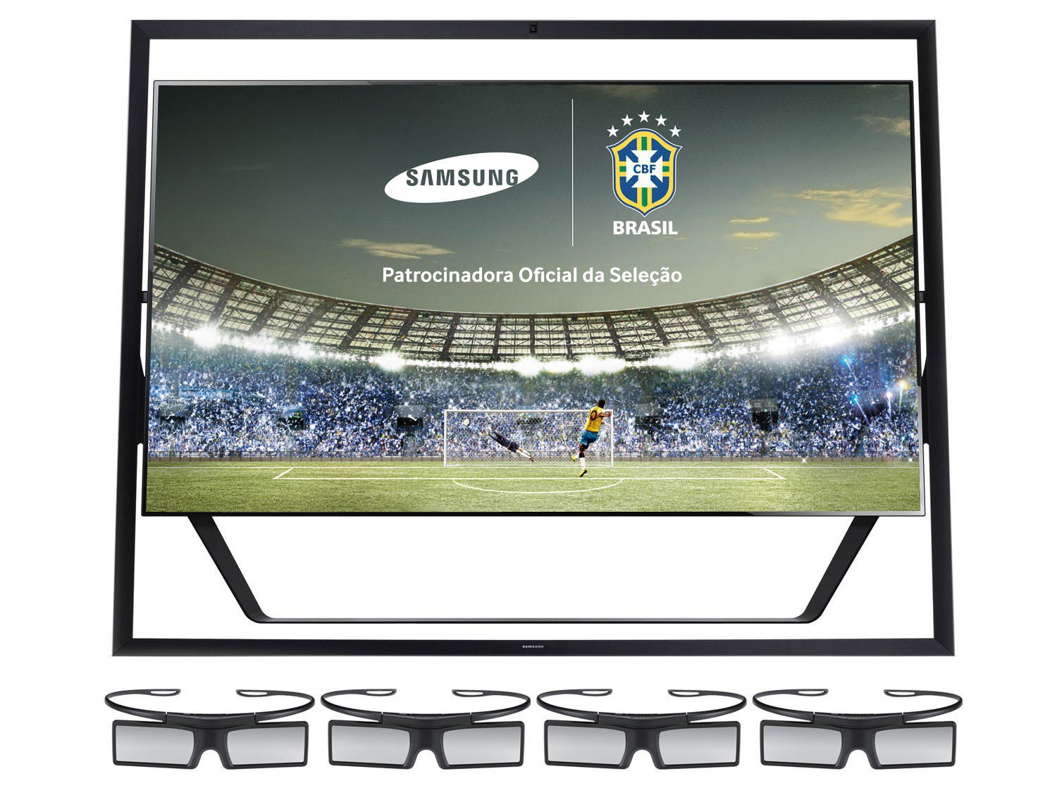 "TV LED 3D 85"" Samsung UN85S9AGXZD - Ultra HD 4K Conv Integrado 4"