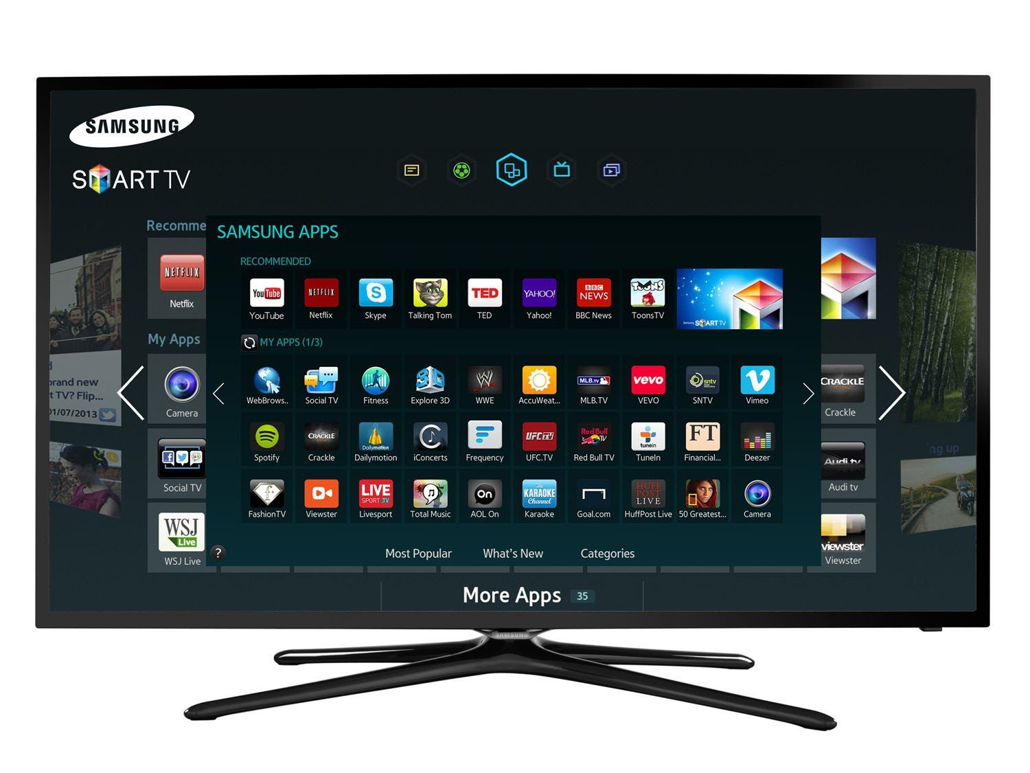 Samsung Smart Led Tv : Smart TV Ofertas de Smart TV ‹ Magazine Luiza