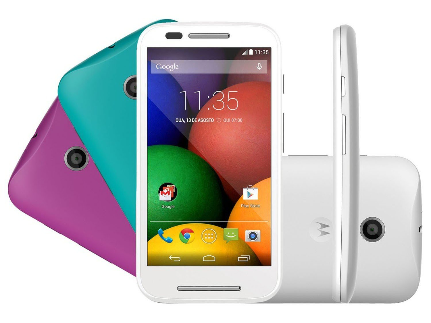 Smartphone Motorola Moto E Dtv Colors Dual Chip 3g Android