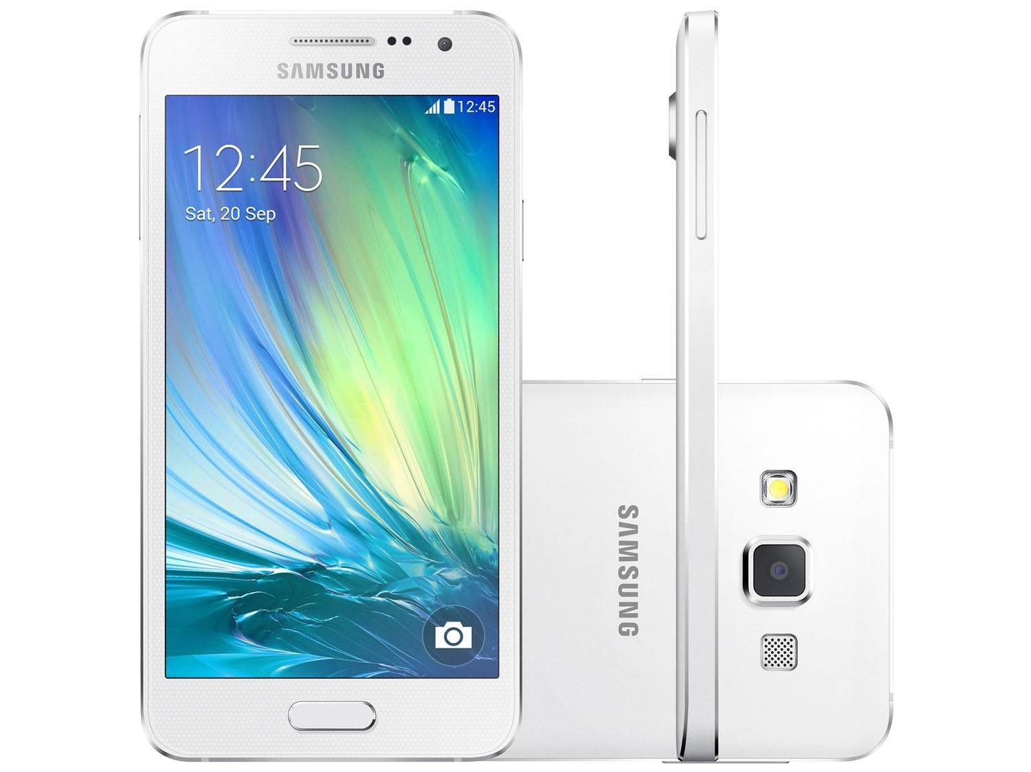 smartphone samsung galaxy a3 duos dual chip 4g android 4 4
